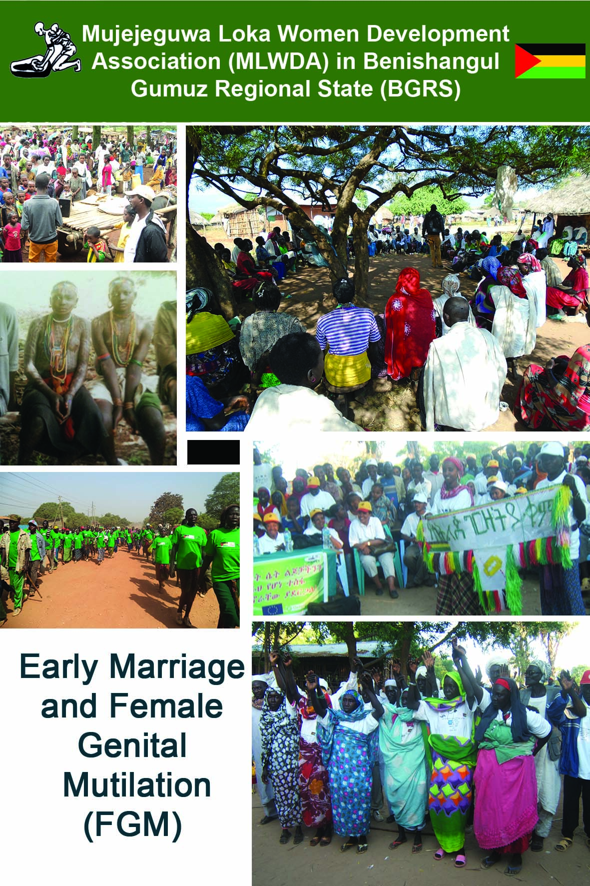 MLWDA banner Early Marriage and FGM